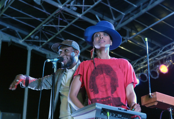 AfroPunk Festival 2012 headlined by Erykah Badu & The Cannibinoids