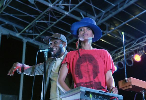 AfroPunk Festival 2012 headlined by Erykah Badu & The Cannibinoids