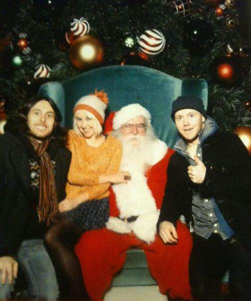 Joy Formidable Santa