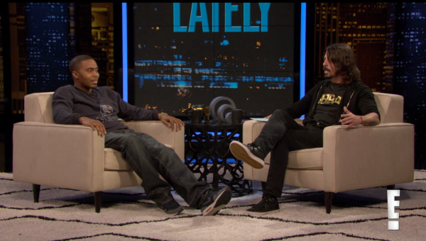 Nas and Dave Grohl on Chelsea Lately