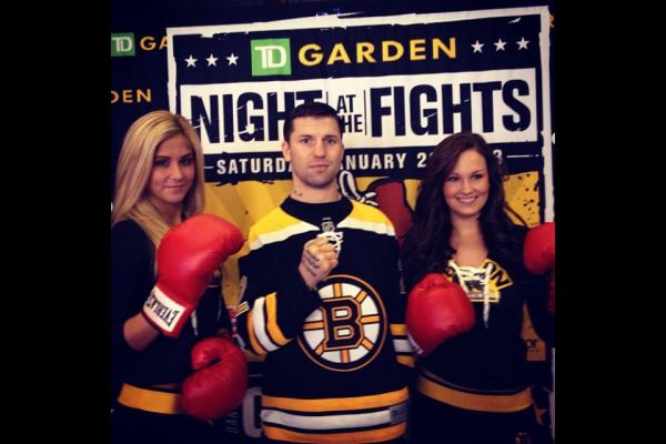 Danny O'Connor & some Ice Girls